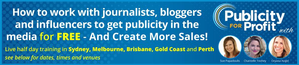 free media publicity training